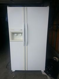 kenmore refrigerator side by side. white 36\ kenmore refrigerator side by $